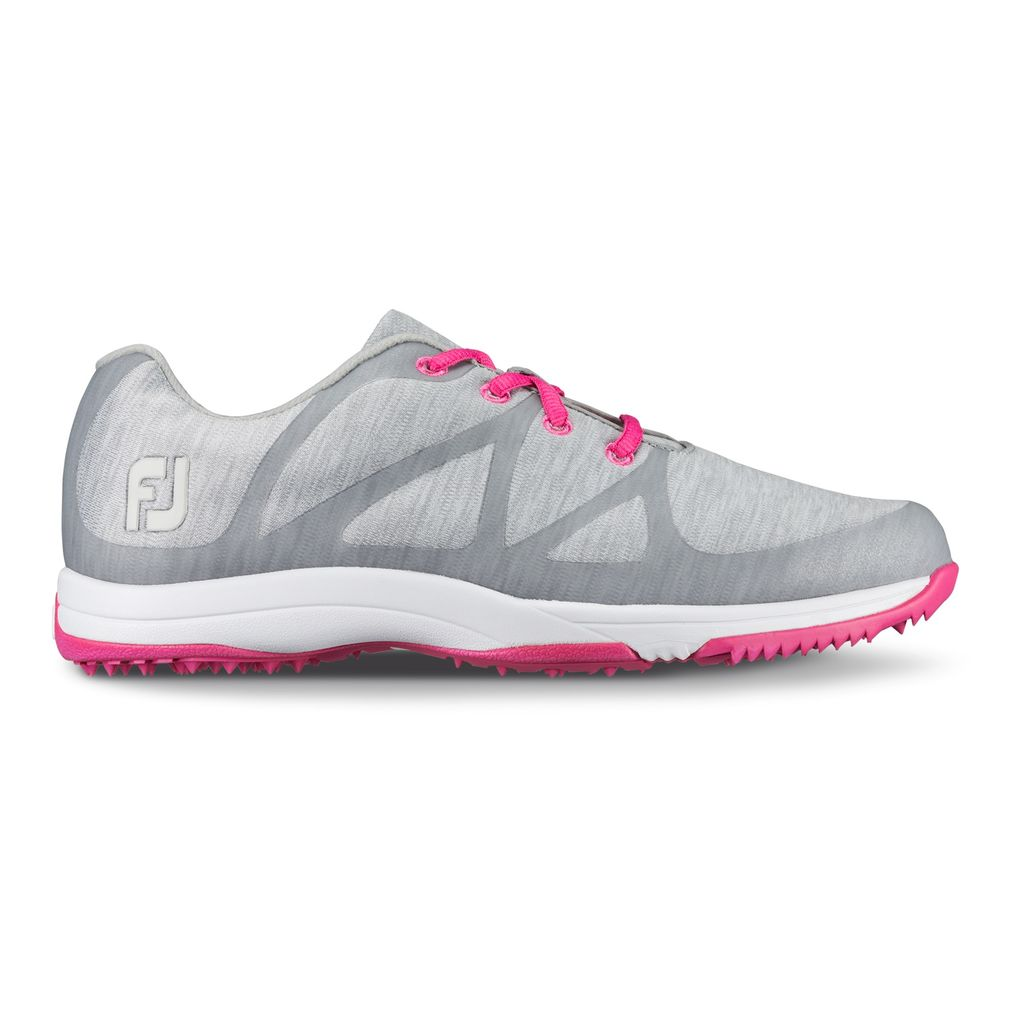 FootJoy Women's FJ Leisure Spikeless Grey Golf Shoe - Closeout Style 92903