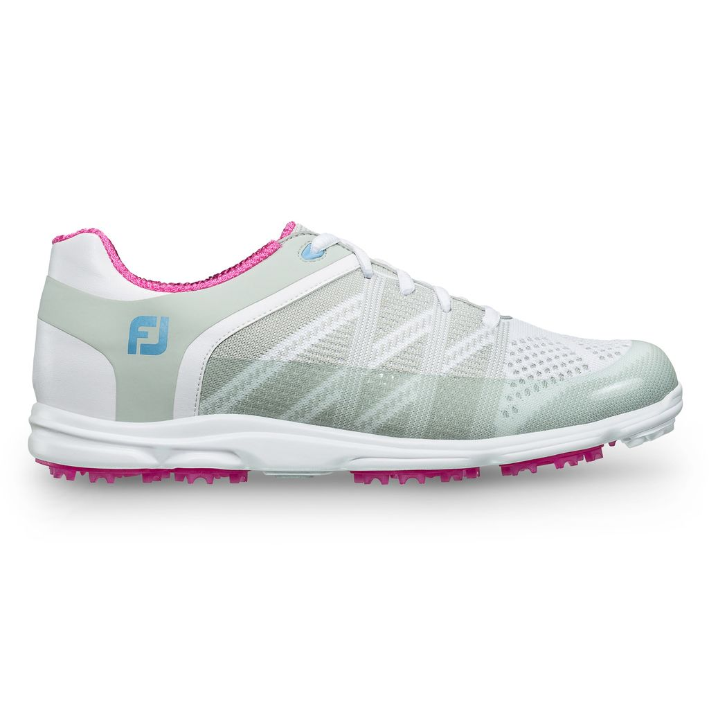 FootJoy Women's FJ Sport SL Spikeless Golf Shoe - White (Disc. style 98027)