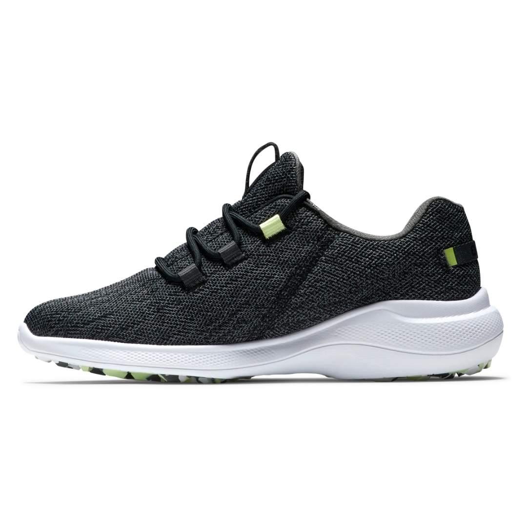 FootJoy Women's Flex Coastal Black/Lime Golf Shoe - Style 95761