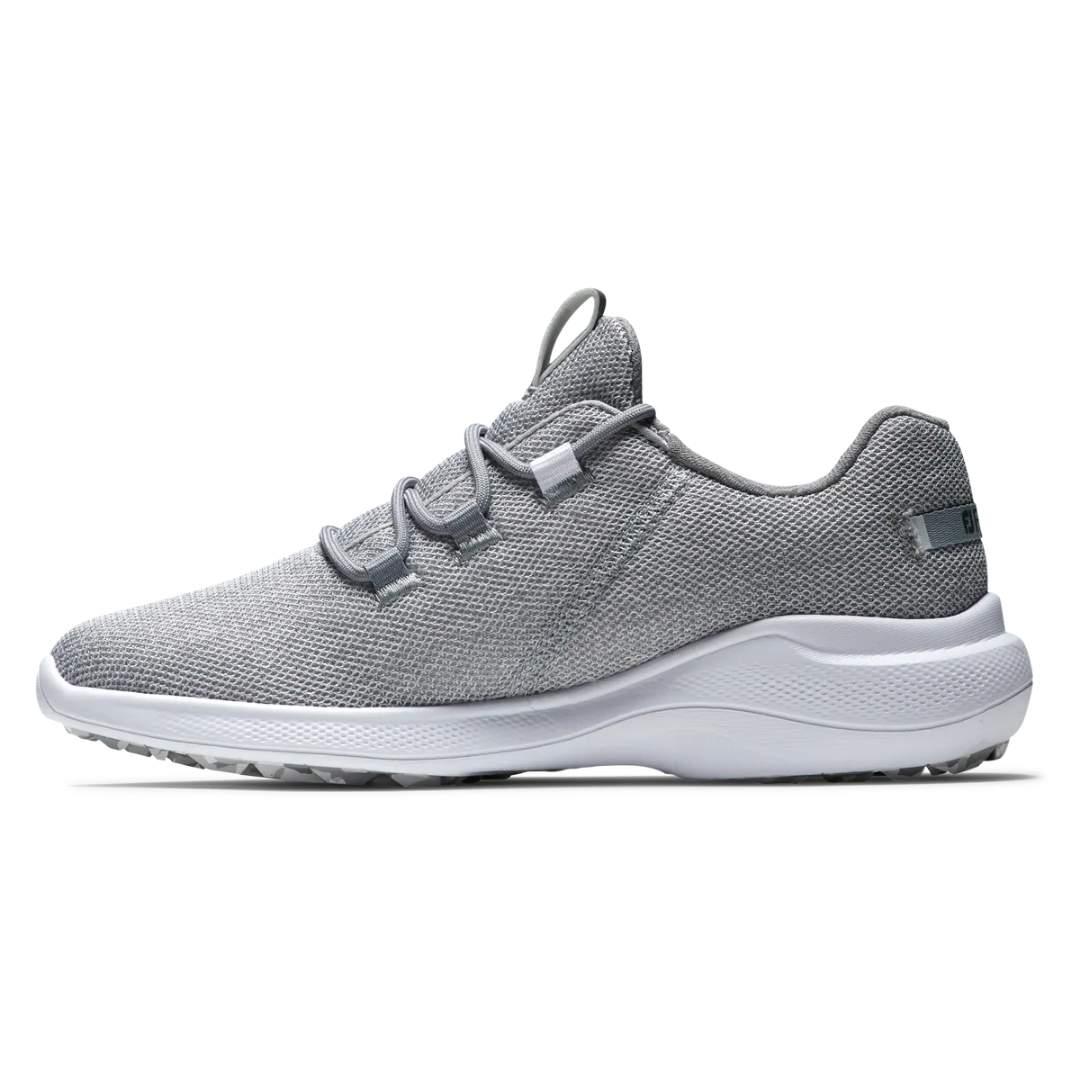 FootJoy Women's Flex Coastal Silver  Golf Shoe - Style 95762