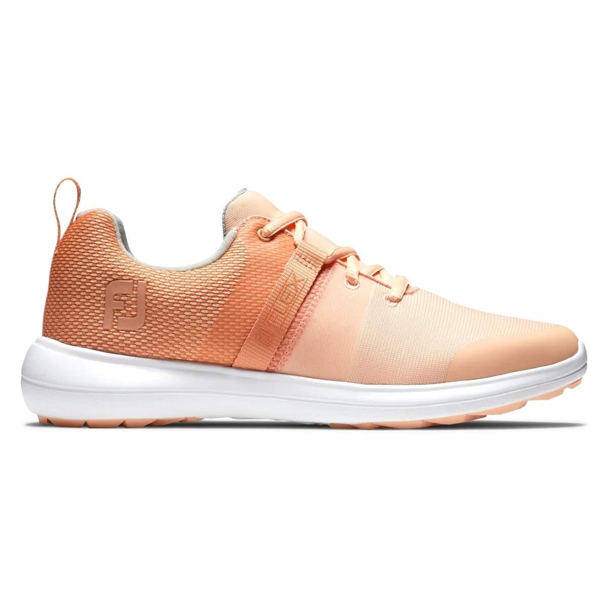 FootJoy Women's Flex Golf Shoe - Orange 95757
