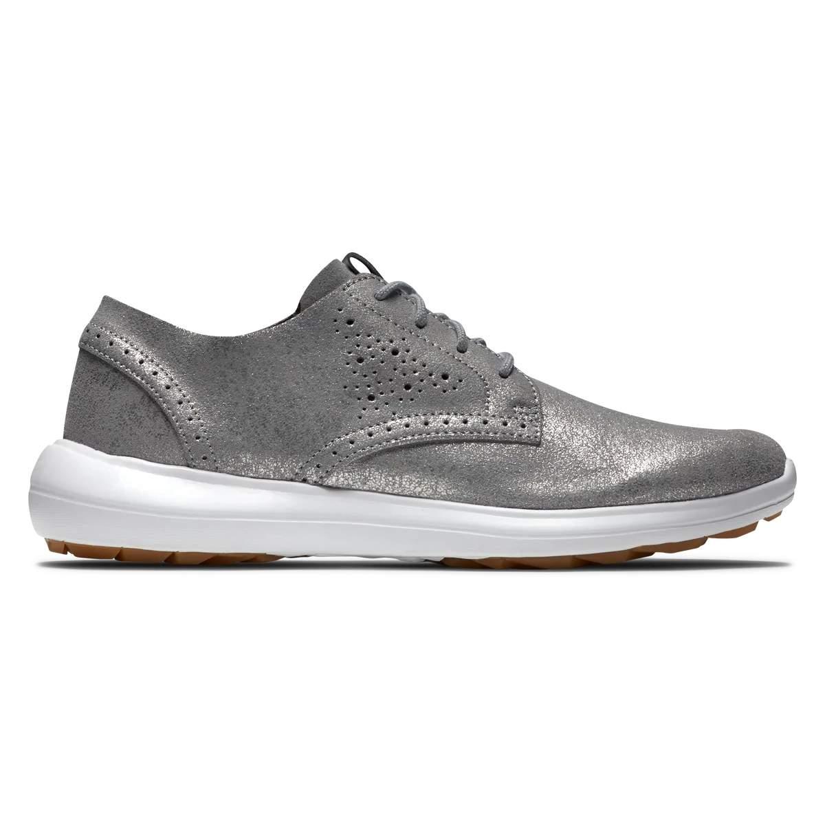 FootJoy Women's Flex LX Golf Shoe - Silver 95736