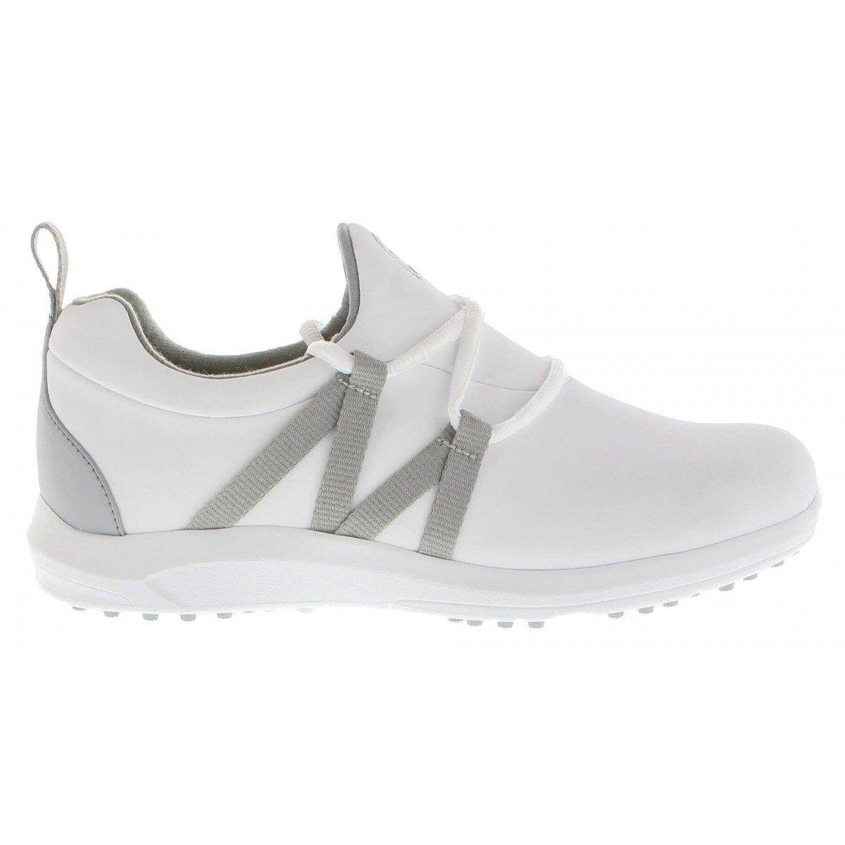 FootJoy Women's Leisure Slip On White Golf Shoes - Previous Season Style #92917