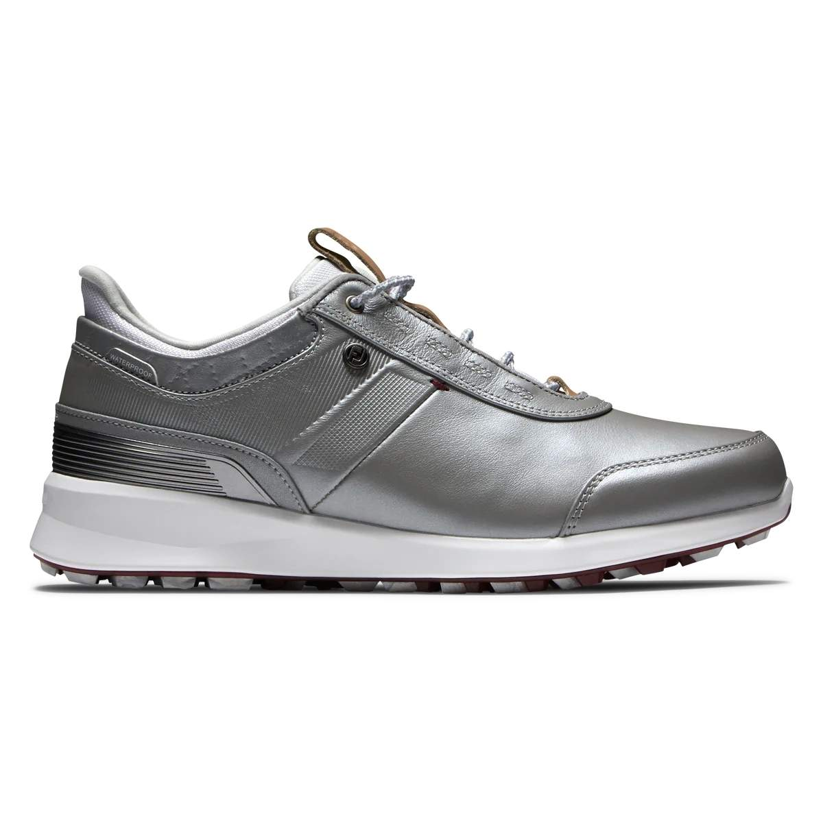 FootJoy Women's Stratos Golf Shoe - Silver 90113