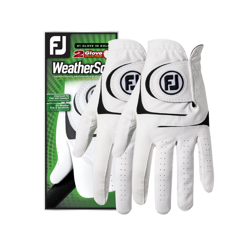 FootJoy Women's WeatherSof Golf Glove 2 Pack - Left Hand Regular
