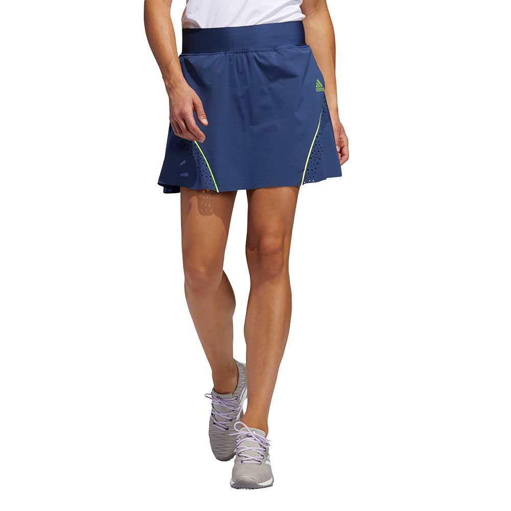 Adidas Women's Perforated Color Pop Tech Indigo Skort