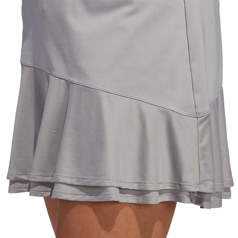 Adidas Women's Ultimate365 Knit Frill Grey Skort