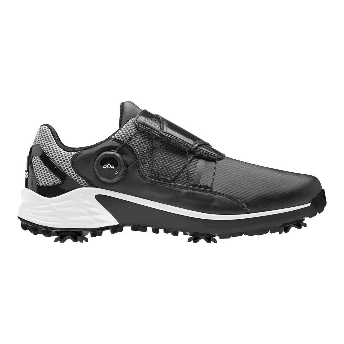 Adidas Men's ZG21 BOA Black Golf Shoe
