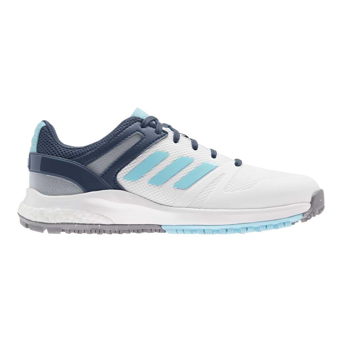 Adidas Women's EQT White/Hazy Sky Spikeless Golf Shoe