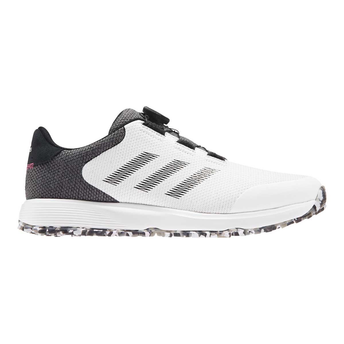 Adidas Men's S2G BOA White/Black Golf Shoe