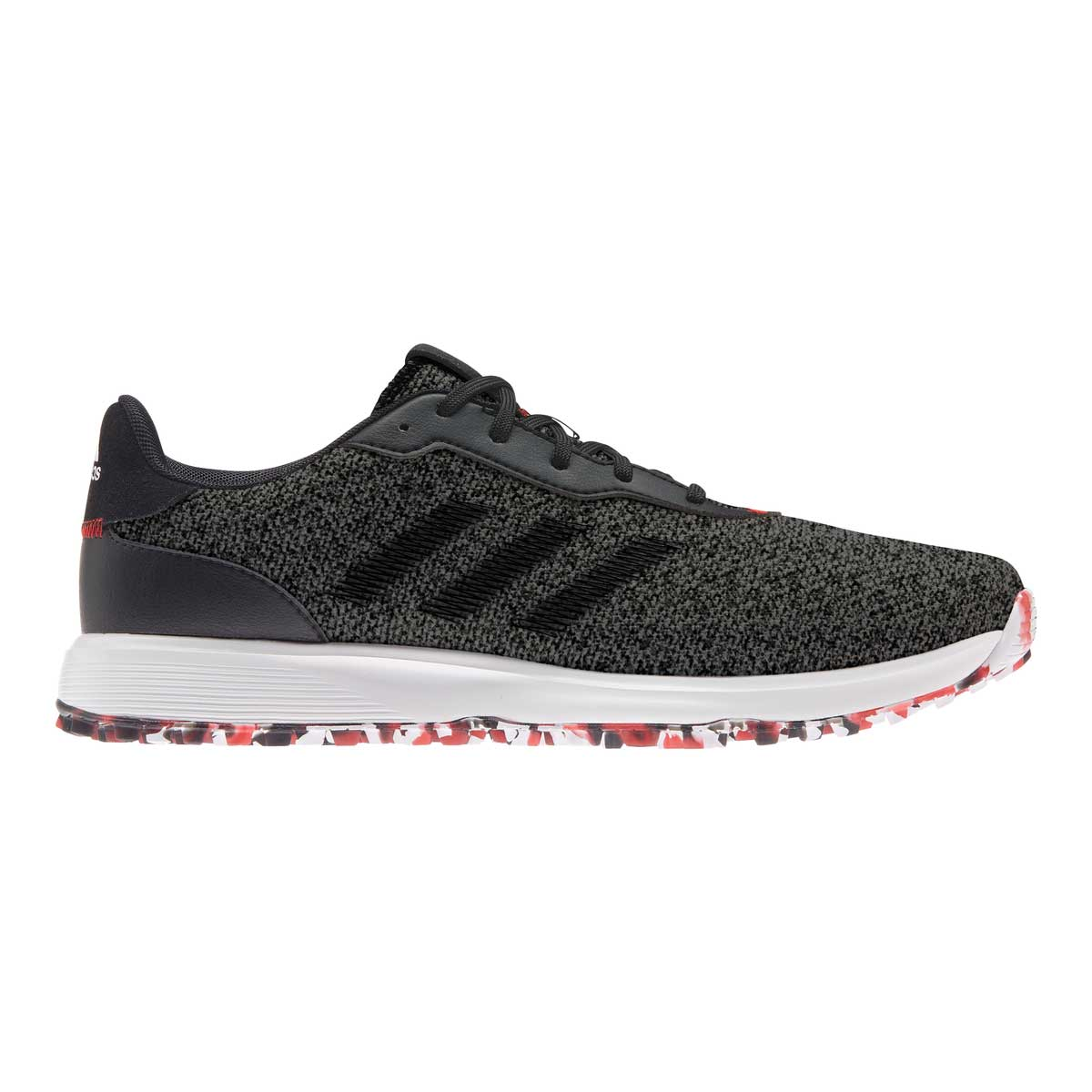 Adidas Men's S2G Grey/Black/Scarlet Golf Shoe