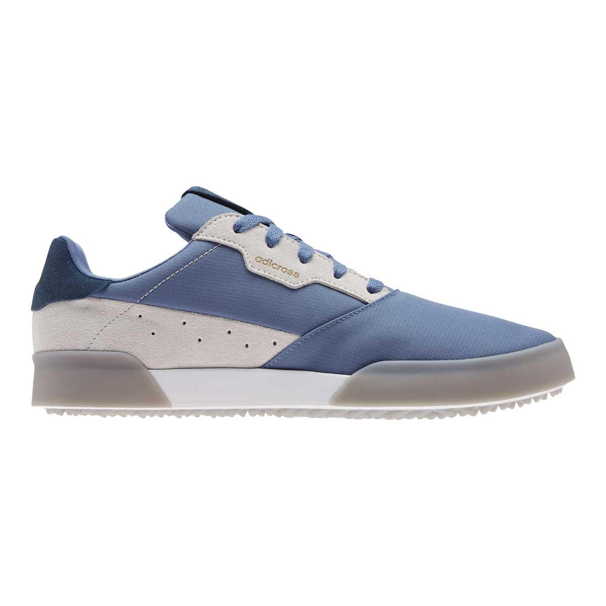 Adidas Men's Adicross Retro Crew Blue Spikeless Golf Shoe