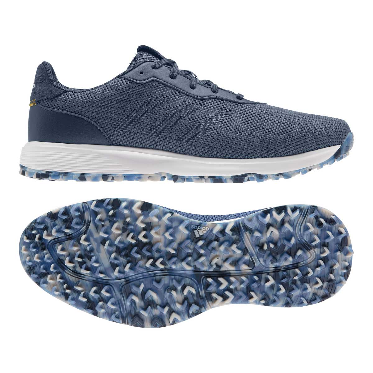 Adidas Men's S2G Crew Blue/Navy Spikeless Golf Shoe