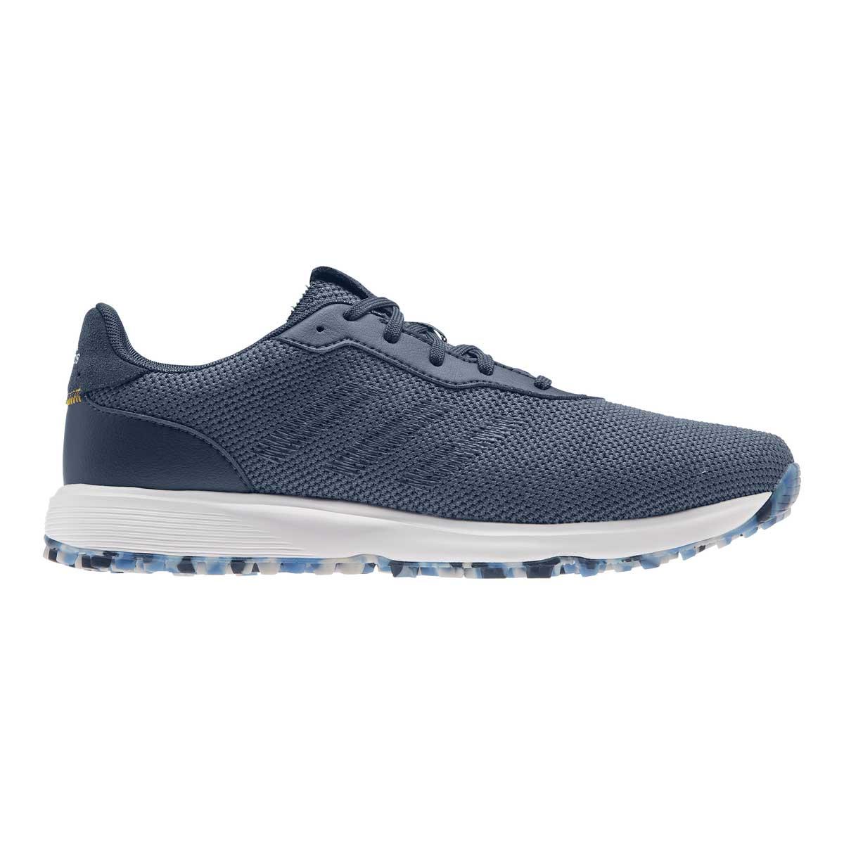 Adidas Men's S2G Crew Blue/Navy Spikeless Golf Shoe