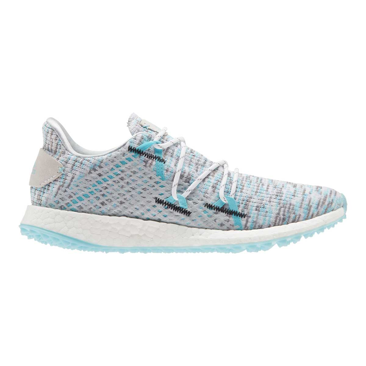 Adidas Women's Crossknit DPR White/Hazy Sky Spikeless Golf Shoe