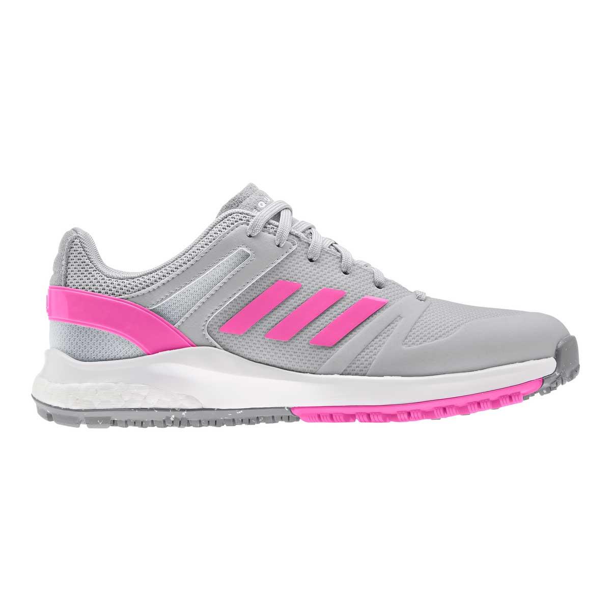 Adidas Women's EQT Spikeless Grey/Screaming Pink Golf Shoe
