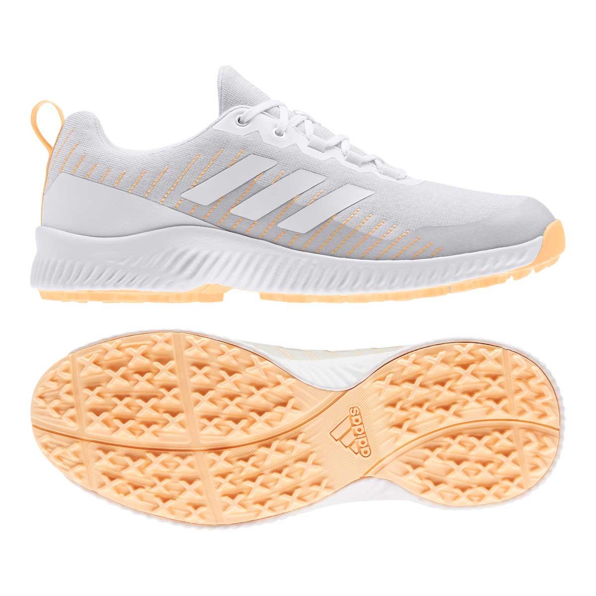 Adidas Women's Response Bounce Spikeless Grey/White Golf Shoe