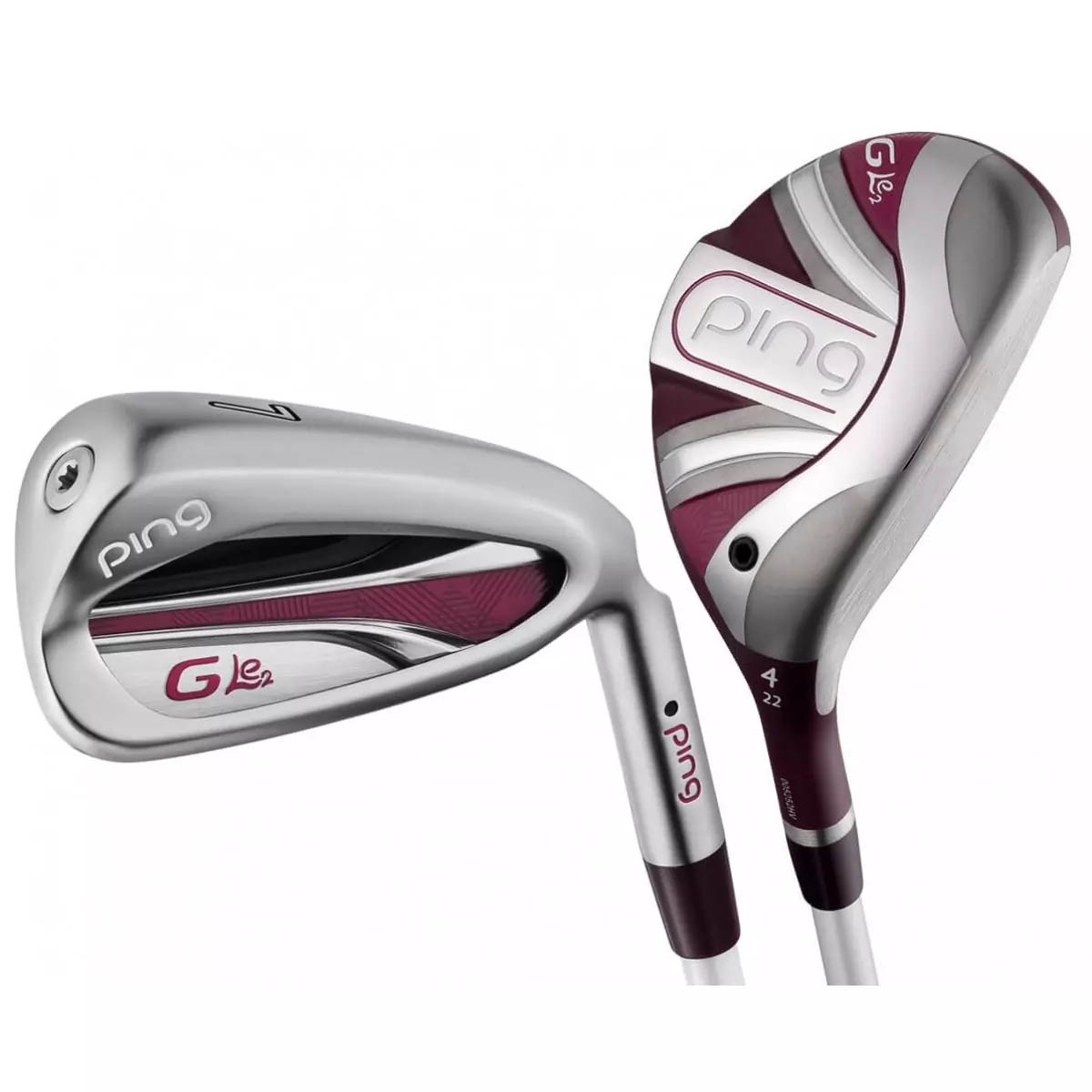 Ping Women's G LE 2 Combo Iron Set