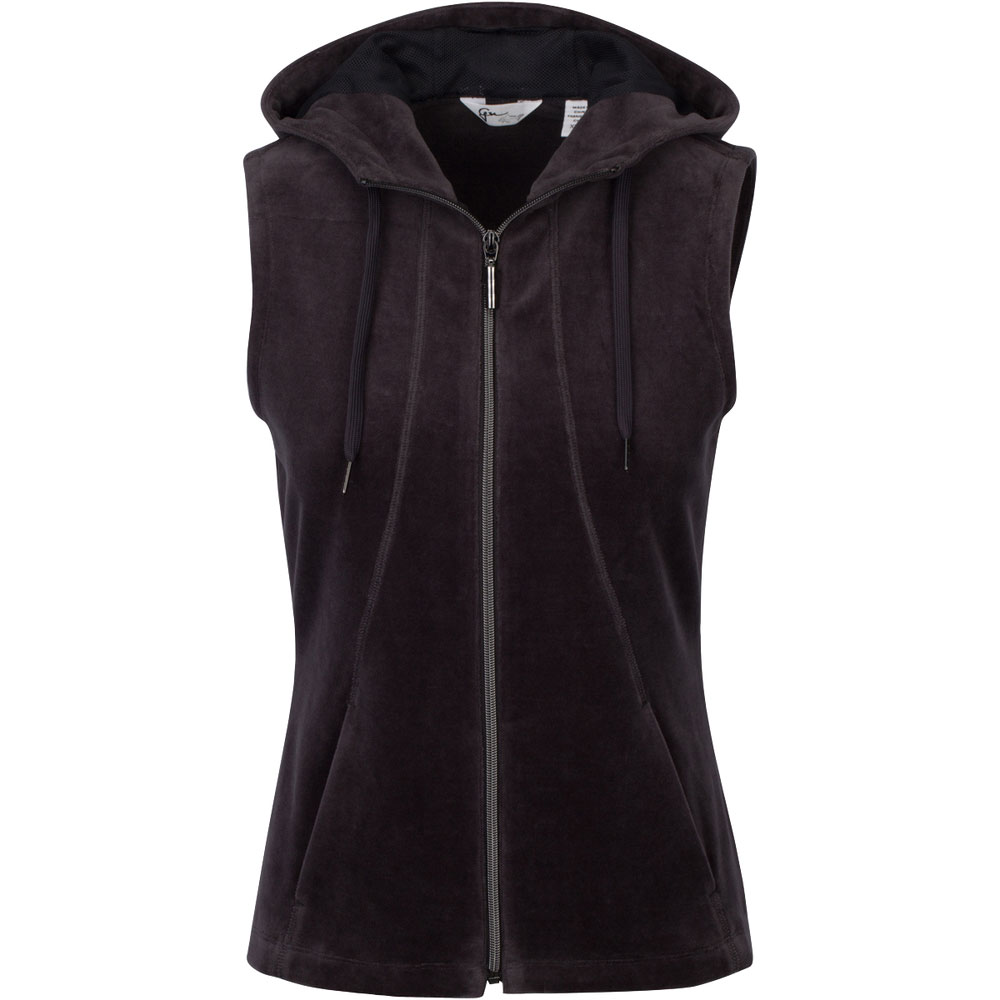 Greg Norman Women's Reign Pique Velour Vest