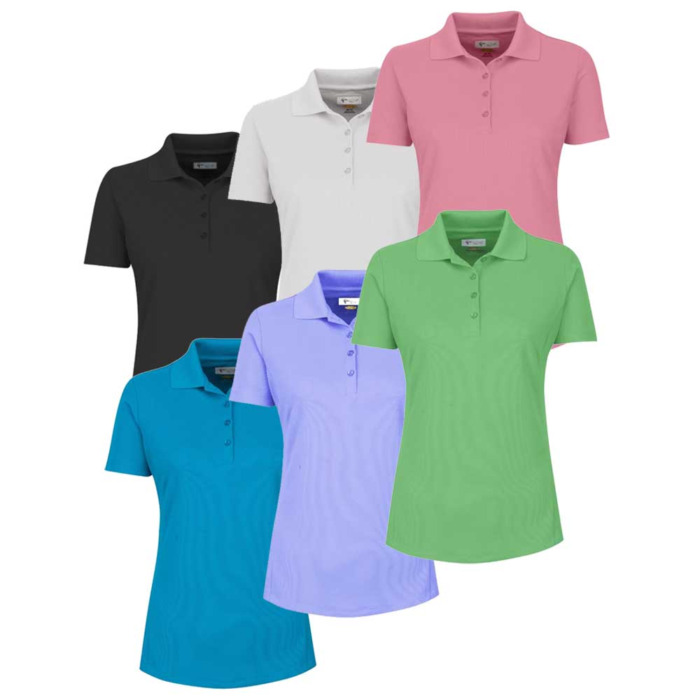 Greg Norman Womens 2018 Short Sleeve Micro Pique Polo