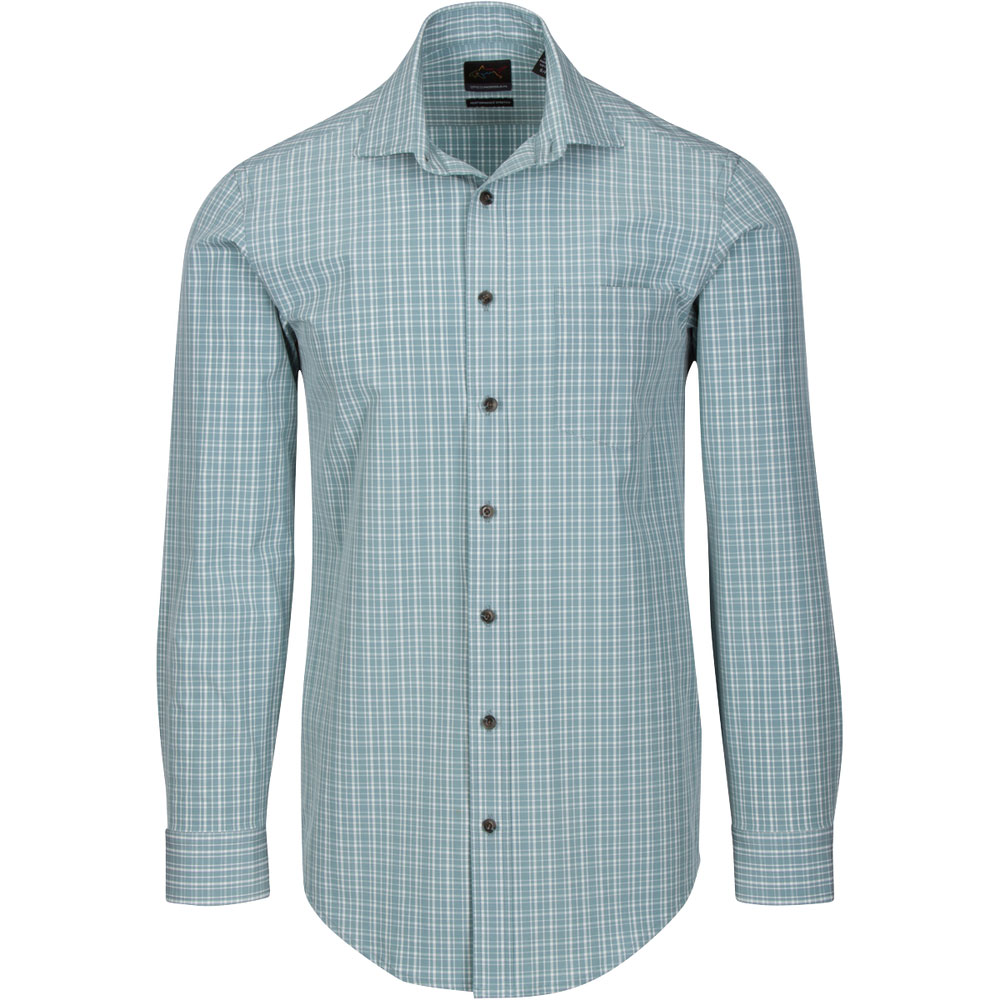 Greg Norman Men's Dash Woven Sport Button Up Shirt