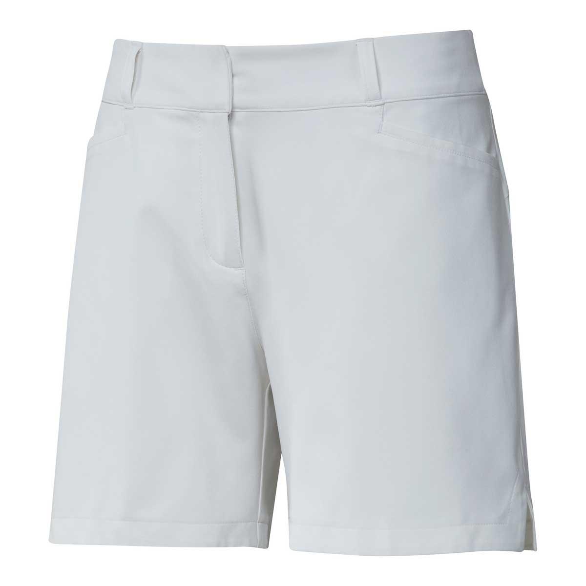 Adidas Women's Solid 5 Inch White Short