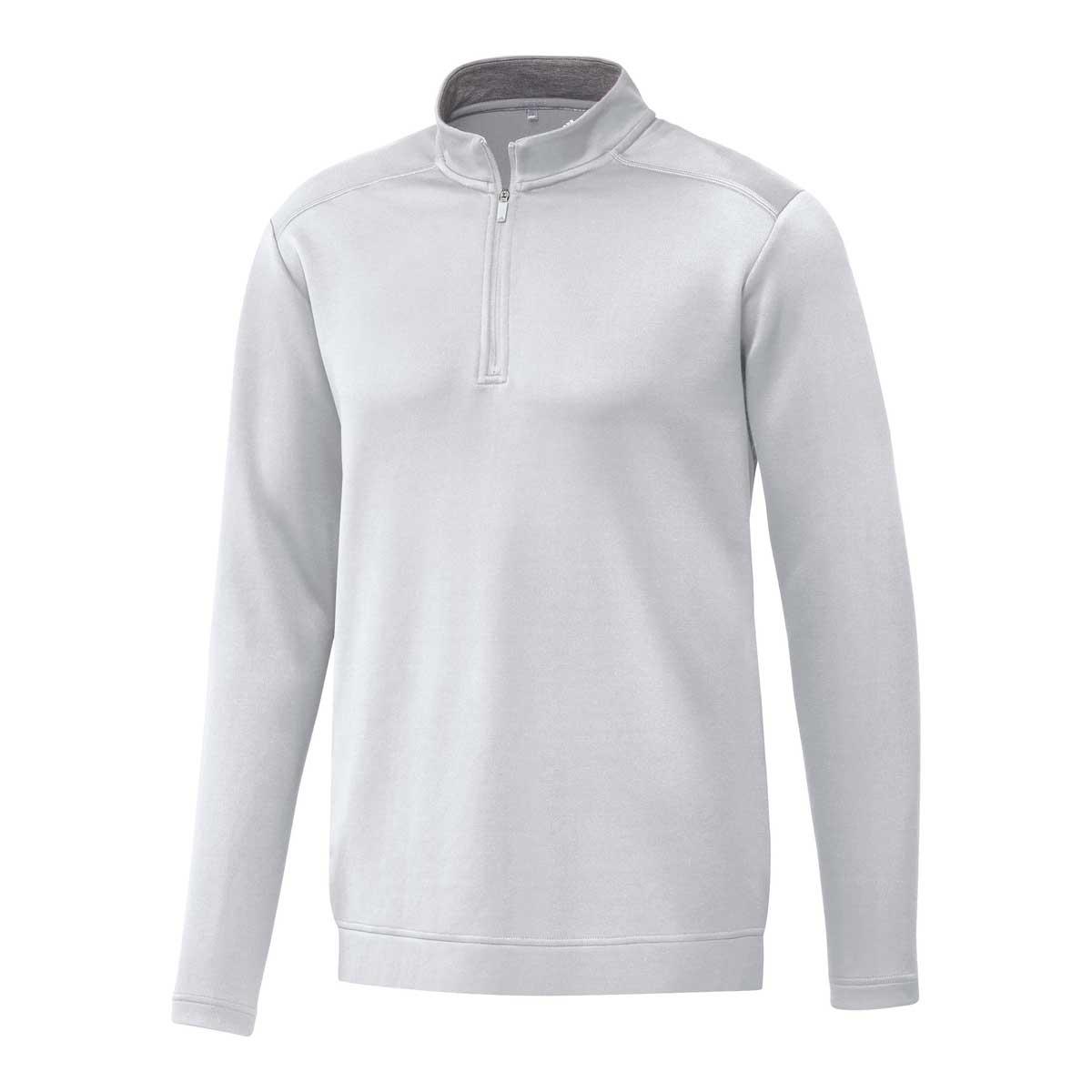 Adidas Men's Club 1/4 Zip White Pullover