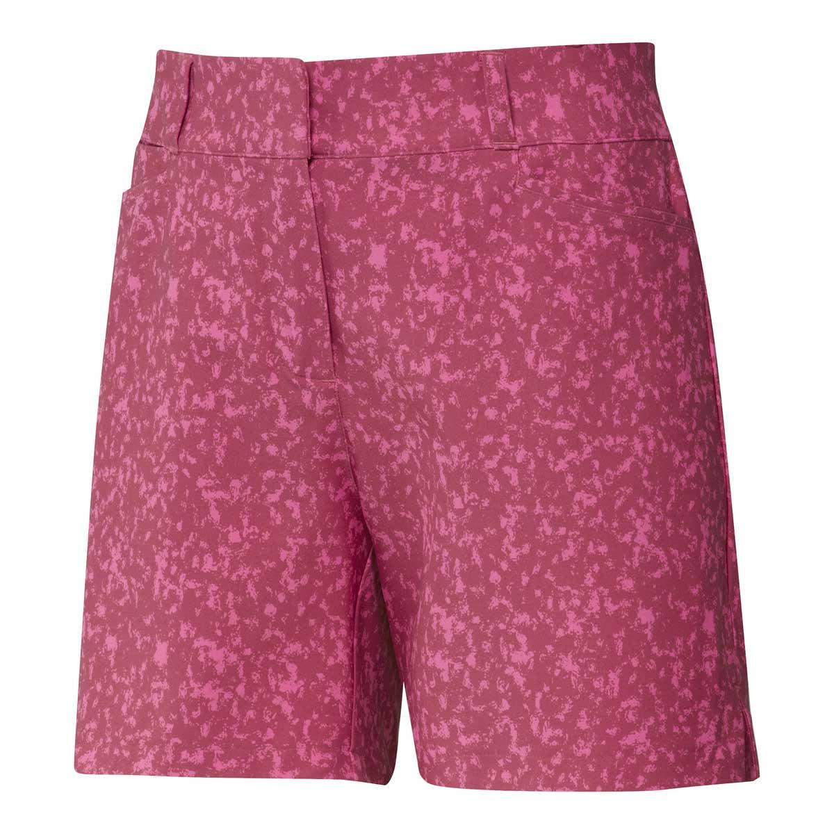 Adidas Women's Printed 5 Inch Wild Pink Short