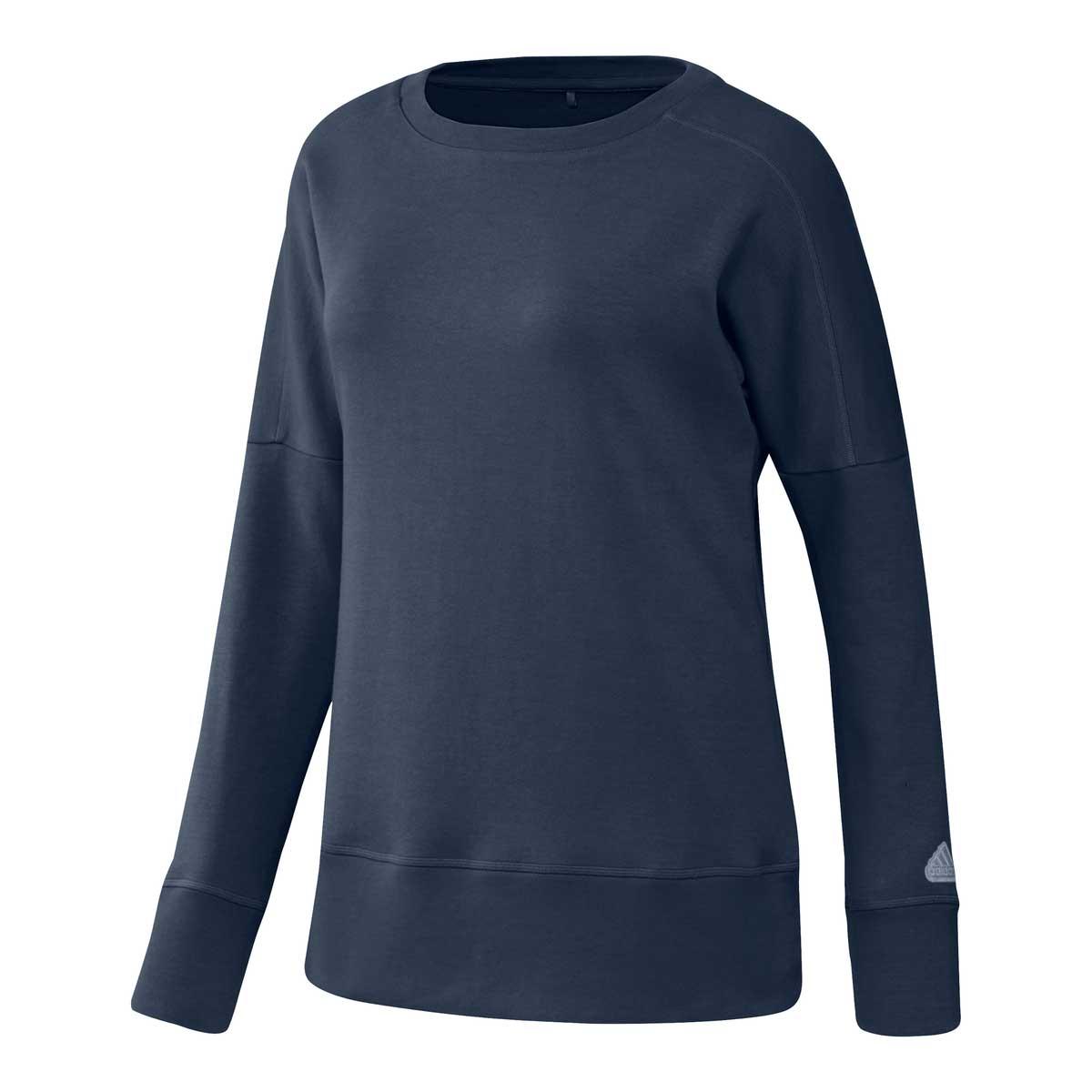 Adidas Women's Go-To Crew Navy Sweatshirt
