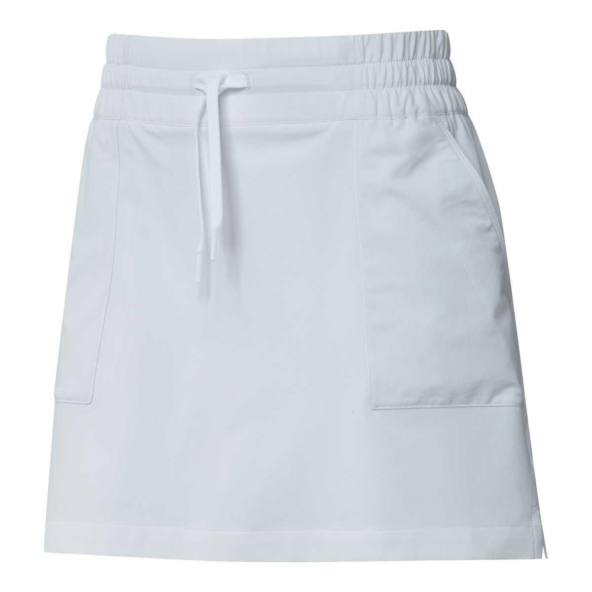 Adidas Women's Go-To 16 Inch White Skort