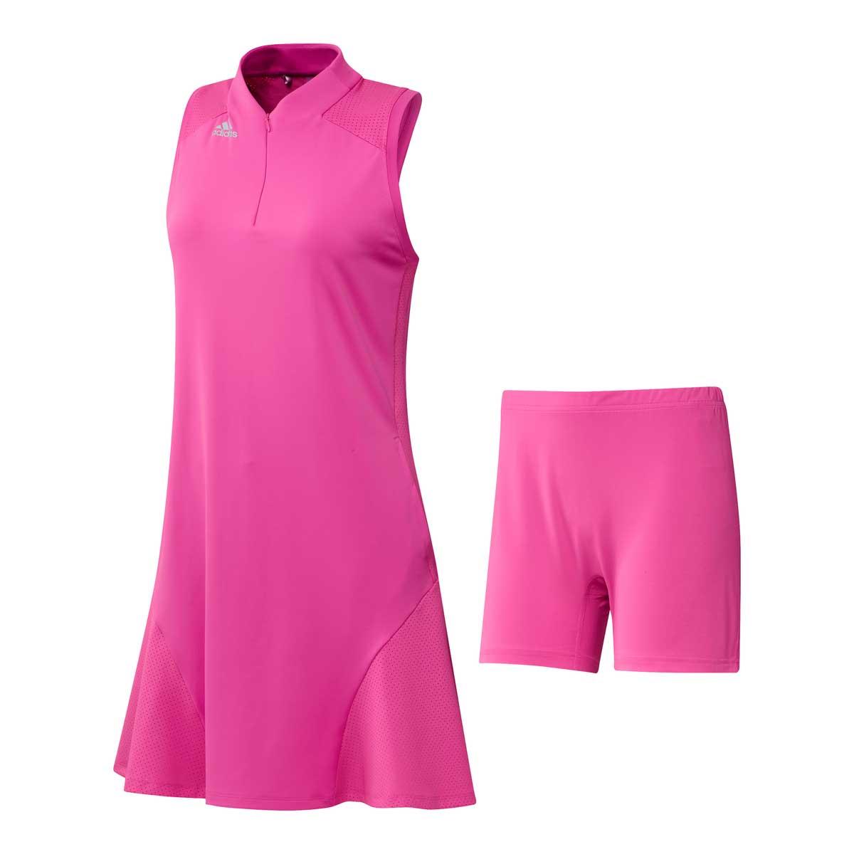 Adidas Women's Aeroready Sport Performane Screaming Pink Dress