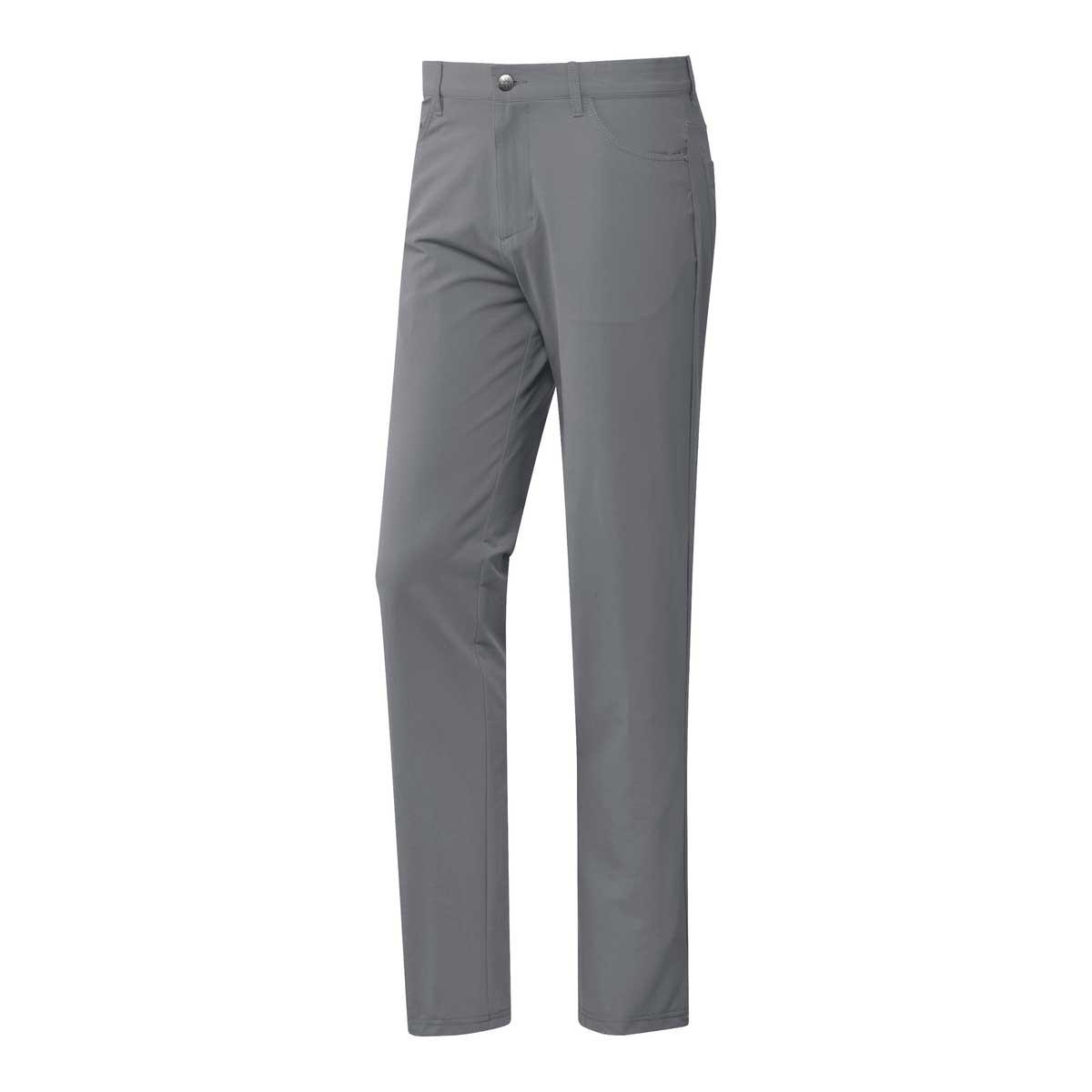 Adidas Men's Go-To Five Pocket Grey Three Pant