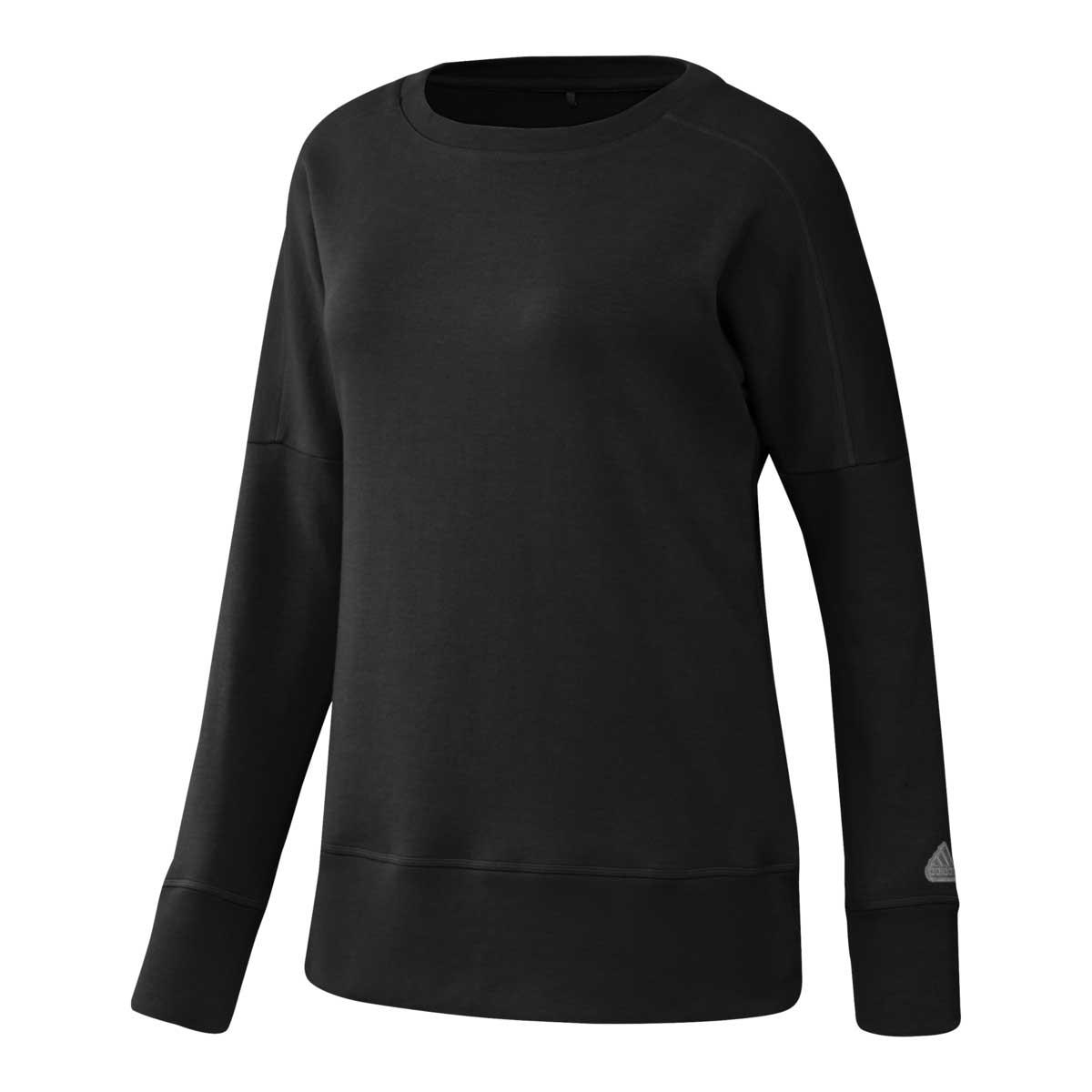 Adidas Women's Go-To Black Sweatshirt