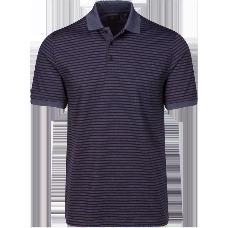 Greg Norman Mens Modern Heritage Yarn Dye Stripe Polo