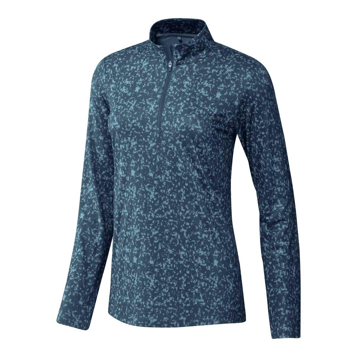 Adidas Women's Aeroready UV50 Primegreen Hazy Sky/Crew Navy Longsleeve Shirt