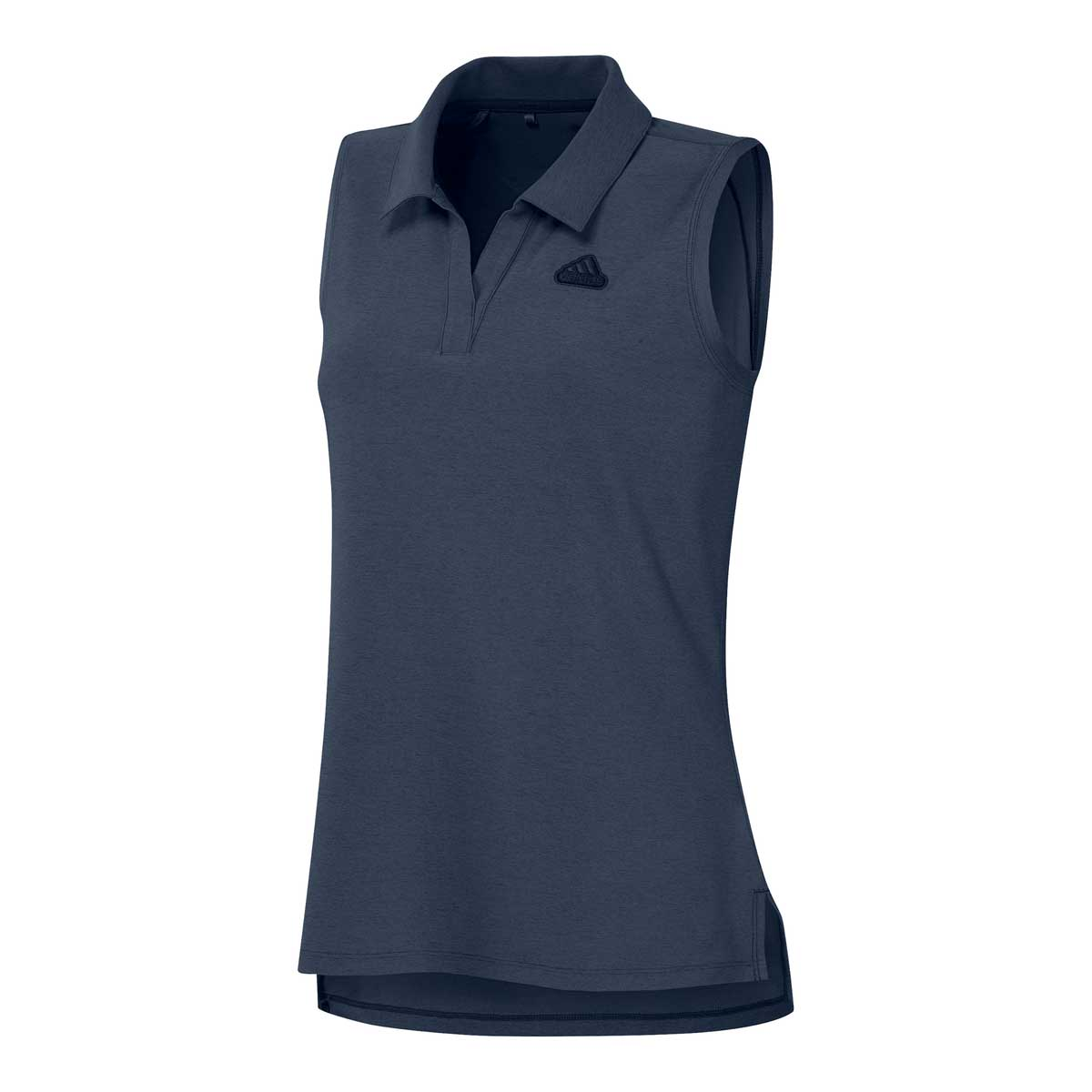 Adidas Women's Go-To Sleeveless Crew Navy Polo