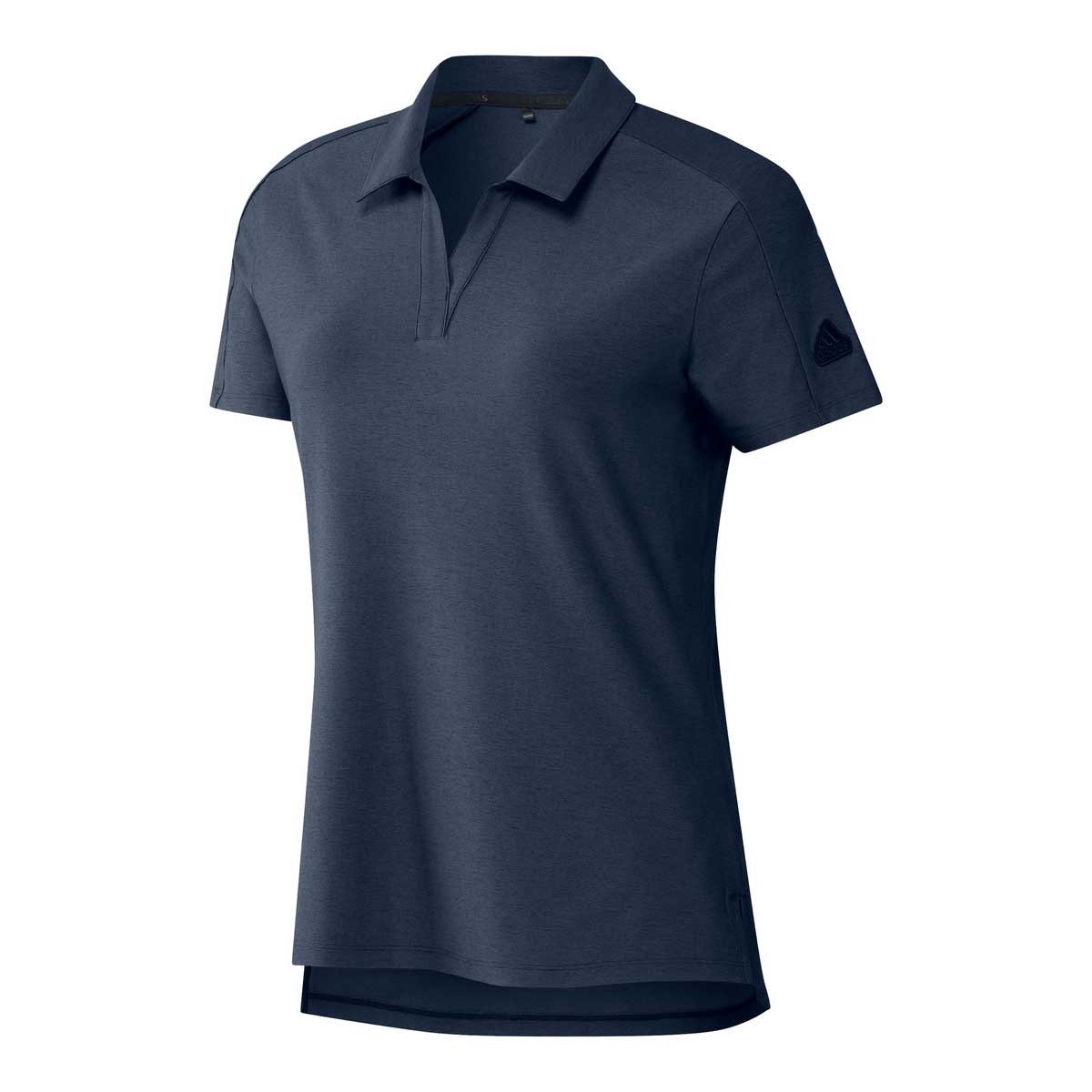 Adidas Women's Go-To Solid Crew Navy Polo