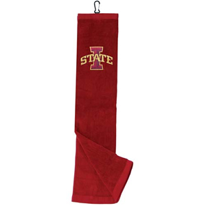 Iowa State University Embroidered Tri-Fold Golf Towel