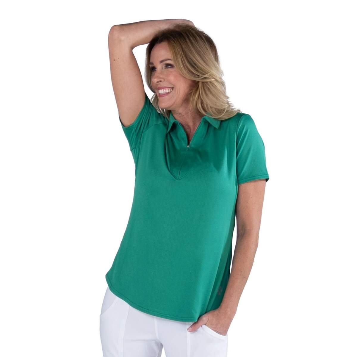 Jofit Women's Emerald Performance Polo