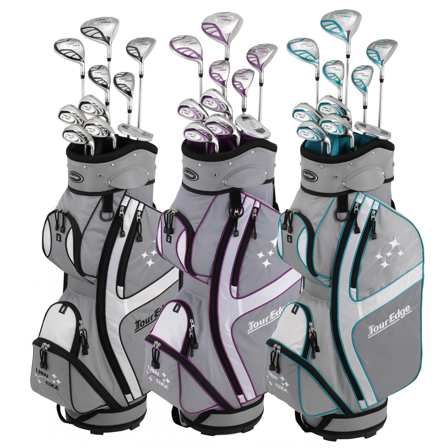 Tour Edge Women's Lady Edge Complete Set