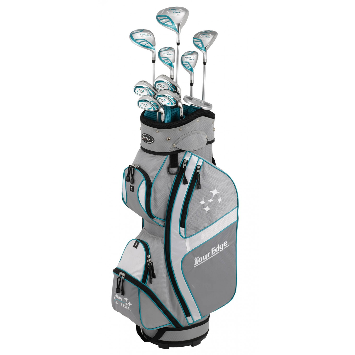 Tour Edge Women's Lady Edge Left Hand Complete Set
