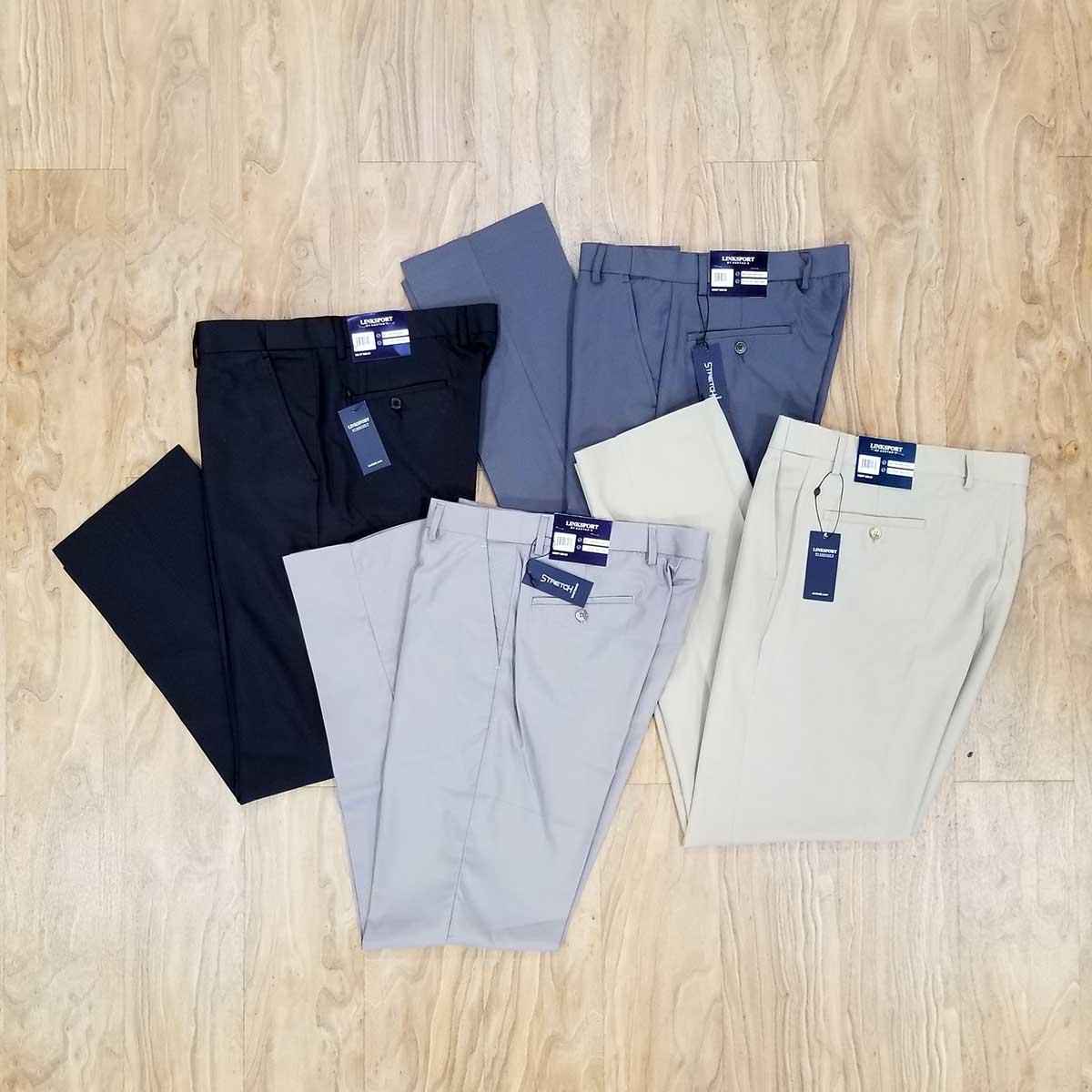 Linksport Premium Golf Pant - Light Grey