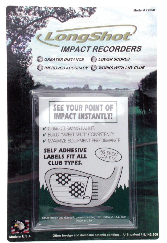 Long Shot Golf Impact Tape