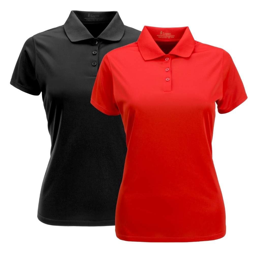 Nancy Lopez Women's Luster Short Sleeve Polo