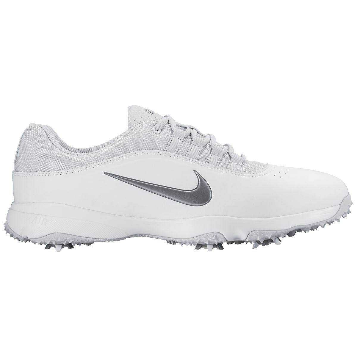 Nike Air Rival 4 White Golf Shoes - Wide Width