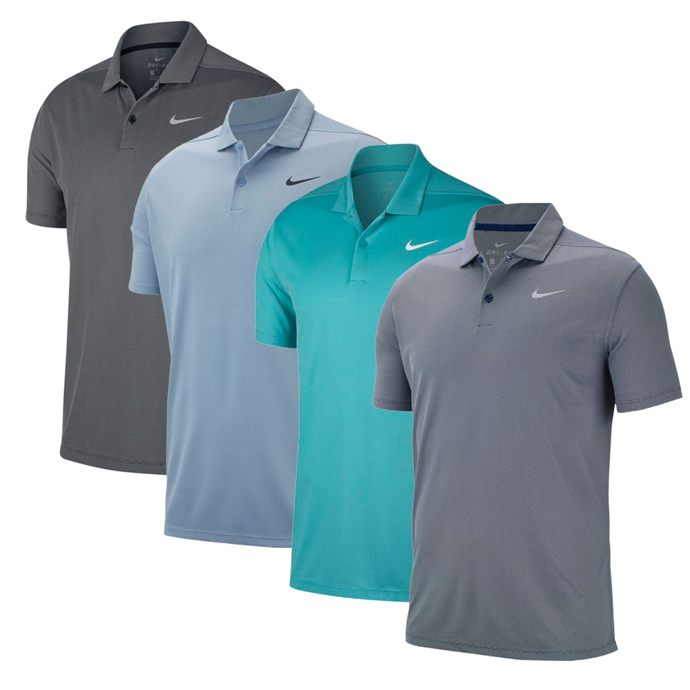 Nike Drifit Victory Textured Solid Polo