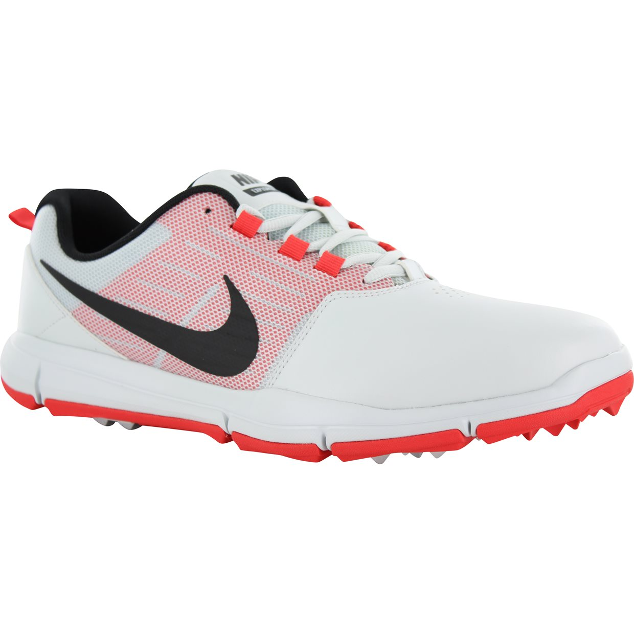 Nike Explorer SL Spikeless Golf Shoes - White/Red