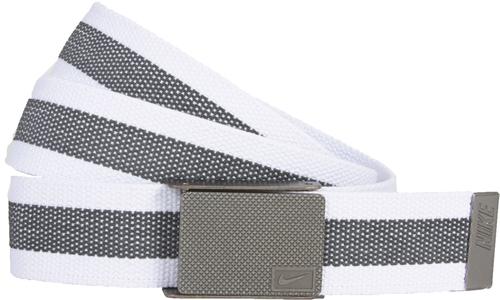 Nike Golf Reversible White Web Belt