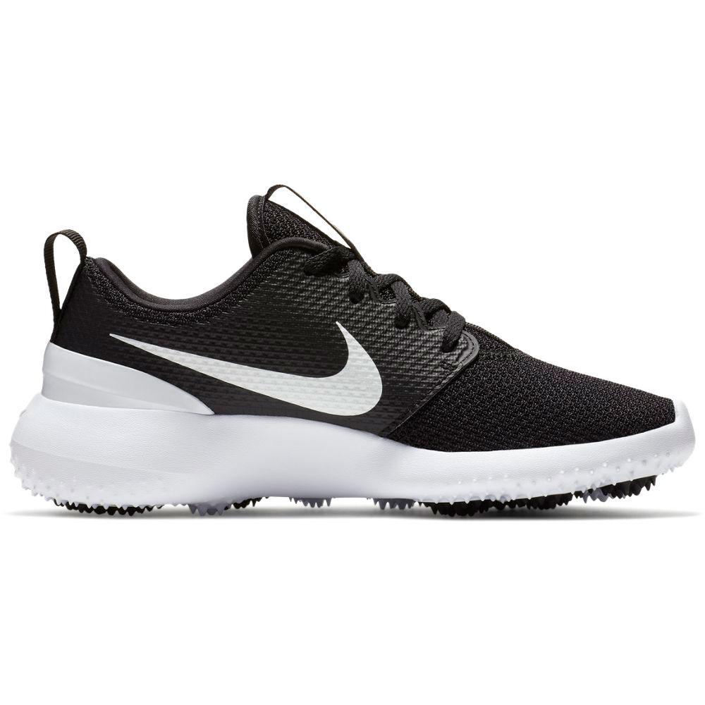 Nike Junior Roshe G Black Golf Shoe