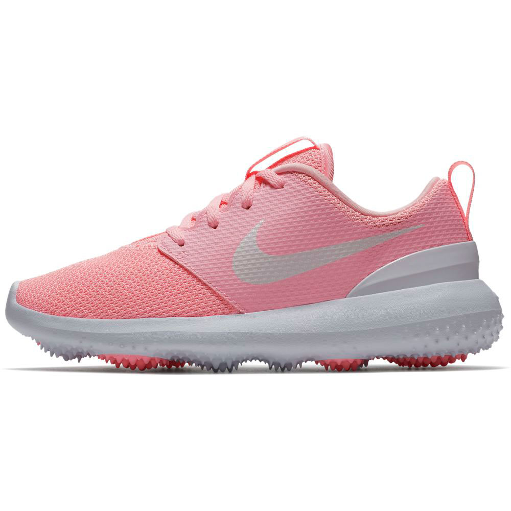 Nike Junior Roshe G Pink Golf Shoe